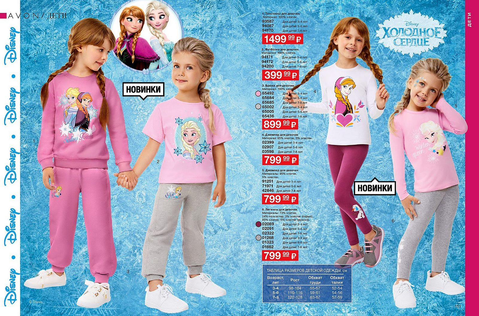 avon одежда для детей